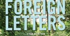 Foreign Letters (2012) stream