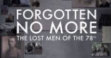 Forgotten No More: The Lost Men of the 78th (2014) stream