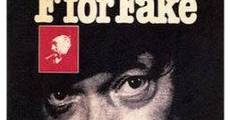 F. for Fake film complet