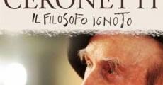 Película Guido Ceronetti, el filósofo desconocido