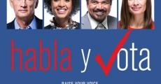 Película Habla y vota