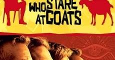 Filme completo Os Homens que Encaravam Cabras