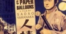 Película Humanidad y globos de papel