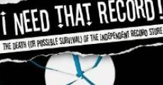 Filme completo I Need That Record! The Death (or Possible Survival) of the Independent Record Store