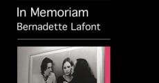 In Memoriam Bernadette Lafont streaming