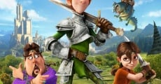 Justin and the Knights of Valour film complet