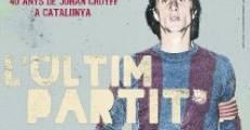 Película L'últim partit. 40 anys de Johan Cruyff a Catalunya