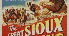 La carga de los indios sioux