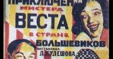 Filme completo As Aventuras Extraordinárias de Mister West no País dos Bolcheviques