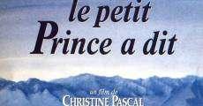 Ver película Le petit prince a dit