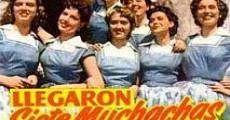 Película Llegaron siete muchachas