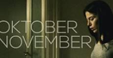 Ver película Oktober November