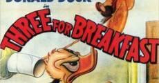 Ver película Pato Donald: Desayuno para tres