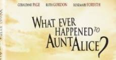 What Ever Happened to Aunt Alice? film complet