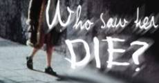 Chi l'ha vista morire? - Who Saw Her Die? film complet
