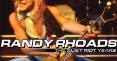 Película Randy Rhoads the Quiet Riot Years