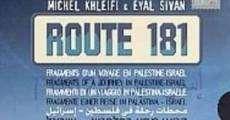 Ver película Ruta 181: fragmentos de un viaje en Palestina-Israel