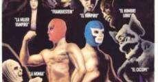 Película Santo el enmascarado de plata y Blue Demon contra los monstruos