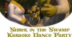 Ver película Shrek en el baile con karaoke en la ciénaga