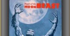 Ver película Track of the Moon Beast