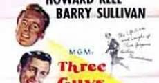 Película Tres hombres llamados Mike