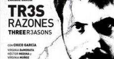 Película Tres razones