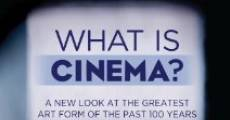 What Is Cinema? (2013) stream