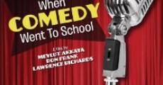 When Comedy Went to School (2013)