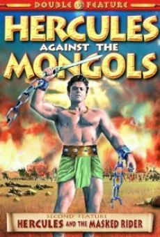 Maciste contro i Mongoli online streaming