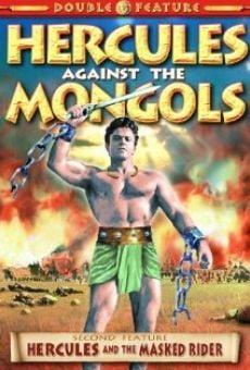 Maciste contro i Mongoli online