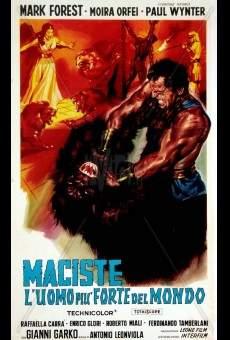 Maciste, l'uomo più forte del mondo online