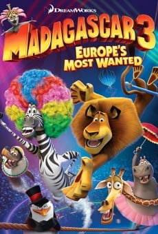 Madagascar 3: Europe's Most Wanted Online Free