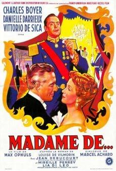 Madame de... on-line gratuito