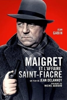 Maigret et l'affaire Saint-Fiacre on-line gratuito