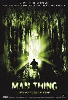 Ver película Man-Thing. La naturaleza del miedo