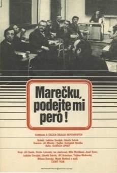 Marecku, podejte mi pero! online