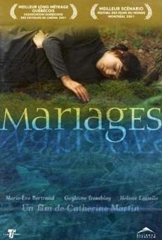 Ver película Matrimonios
