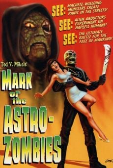 Mark of the Astro-Zombies online streaming