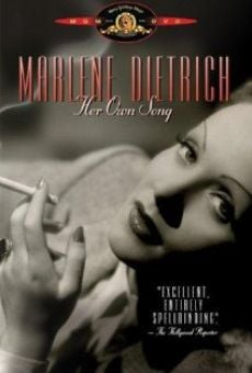 Marlene Dietrich: Her Own Song online streaming