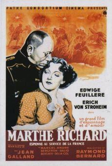 Marthe Richard au service de la France on-line gratuito