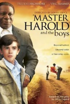'Master Harold' ... And the Boys on-line gratuito