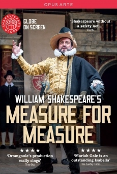 Measure for Measure from Shakespeare's Globe online streaming