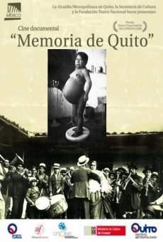 Memoria de Quito on-line gratuito