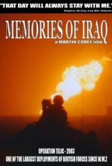 Watch Memories of Iraq online stream