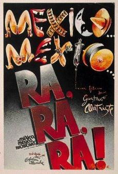 Película: México, México, ra ra ra