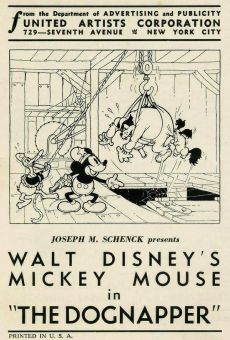 Walt Disney's Mickey Mouse: The Dognapper online