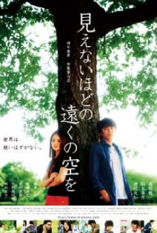 Ver película Mienai hodo no tôku no sora wo