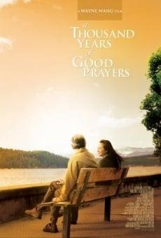 Un millier d'années de bonnes prières