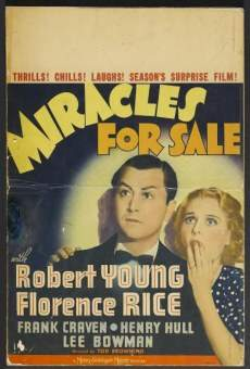 Miracles for Sale online streaming