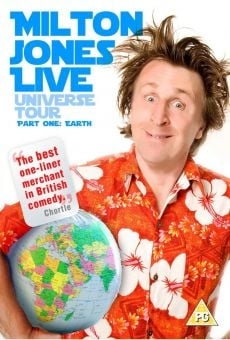 Milton Jones: Live Universe Tour. Part 1: Earth online